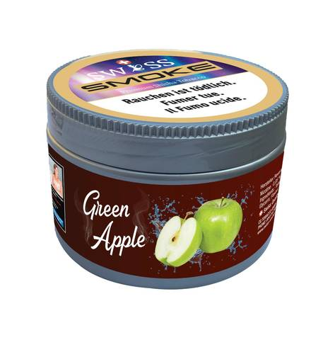 swiss smoke green apple