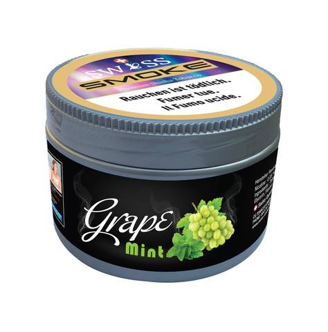 swiss smoke grape mint